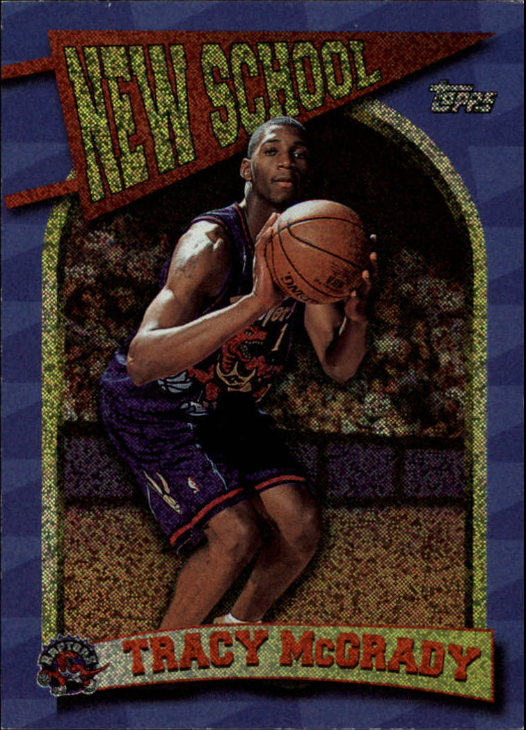 1997-98 Topps New School #NS12 Tracy McGrady