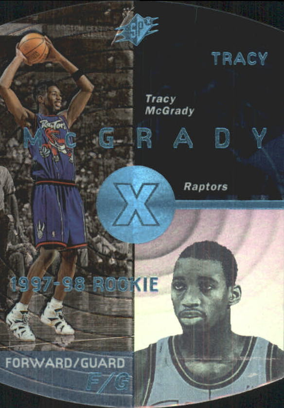 1997-98 SPx Sky #42 Tracy McGrady