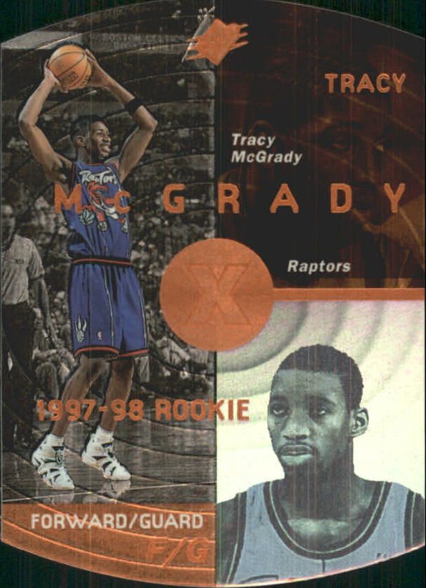 1997-98 SPx Bronze #42 Tracy McGrady