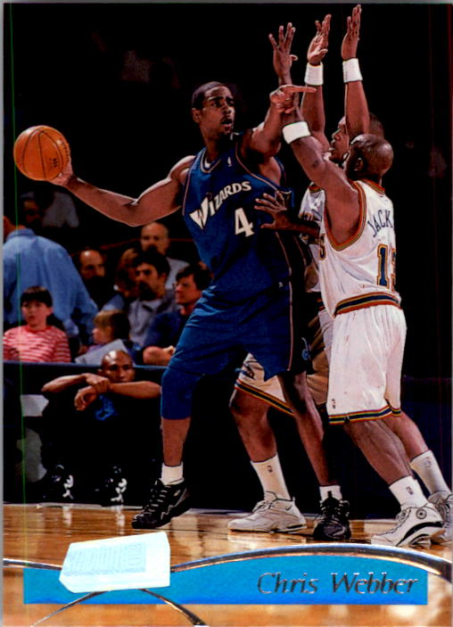 1997-98 Stadium Club #74 Chris Webber