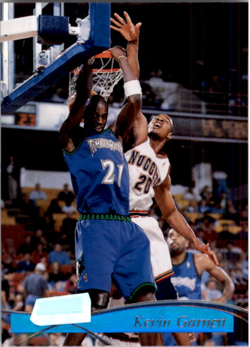 1997-98 Stadium Club #138 Kevin Garnett