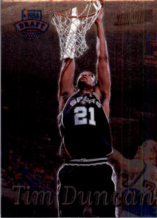 1997-98 Stadium Club #201 Tim Duncan RC