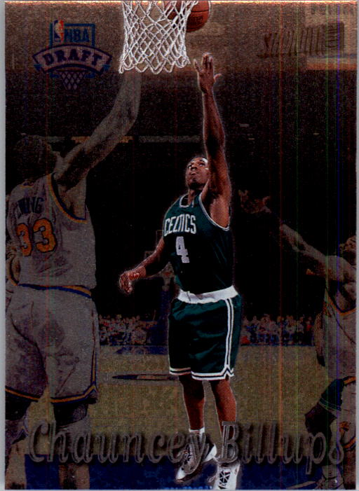 1997-98 Stadium Club #205 Chauncey Billups RC