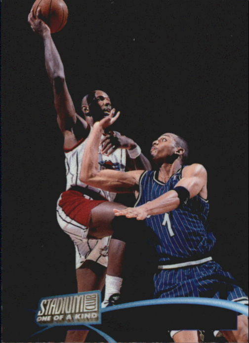 1997-98 Stadium Club One Of A Kind #141 Clyde Drexler