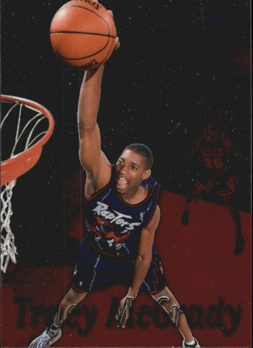 1997-98 Stadium Club One Of A Kind #217 Tracy McGrady