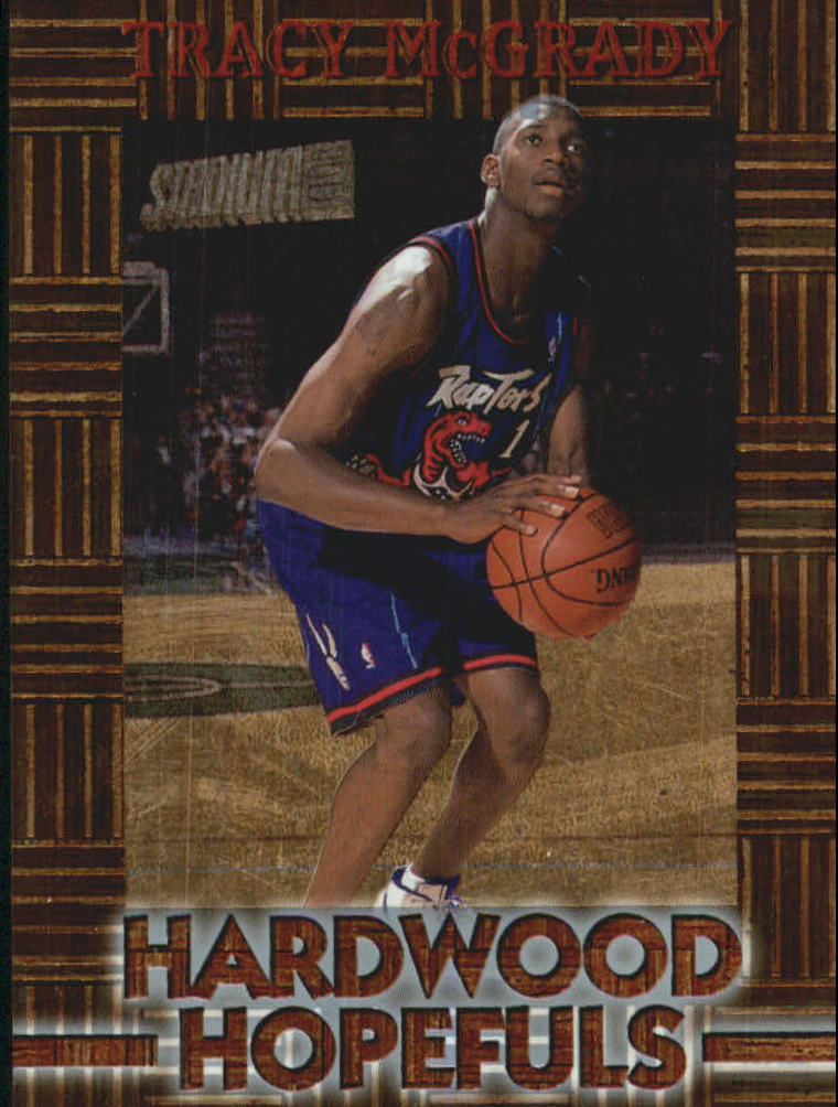 1997-98 Stadium Club Hardwood Hopefuls #HH6 Tracy McGrady