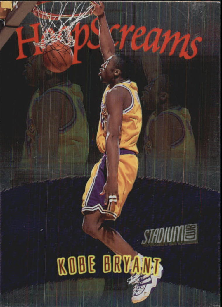 1997-98 Stadium Club Hoop Screams #HS9 Kobe Bryant