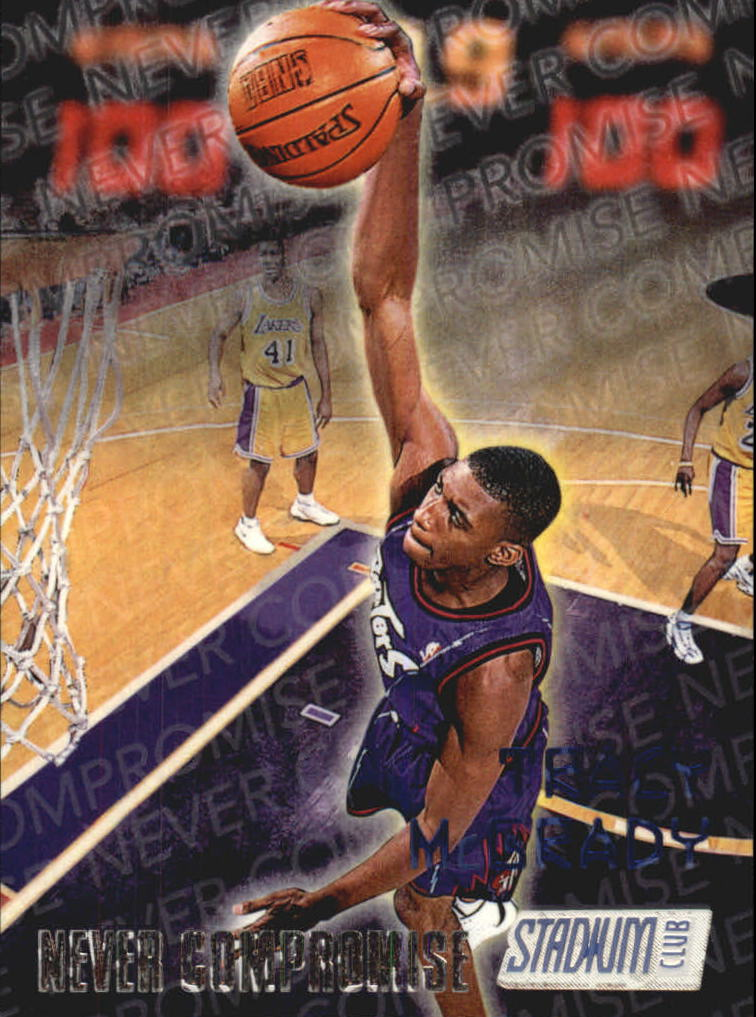 1997-98 Stadium Club Never Compromise #NC13 Tracy McGrady