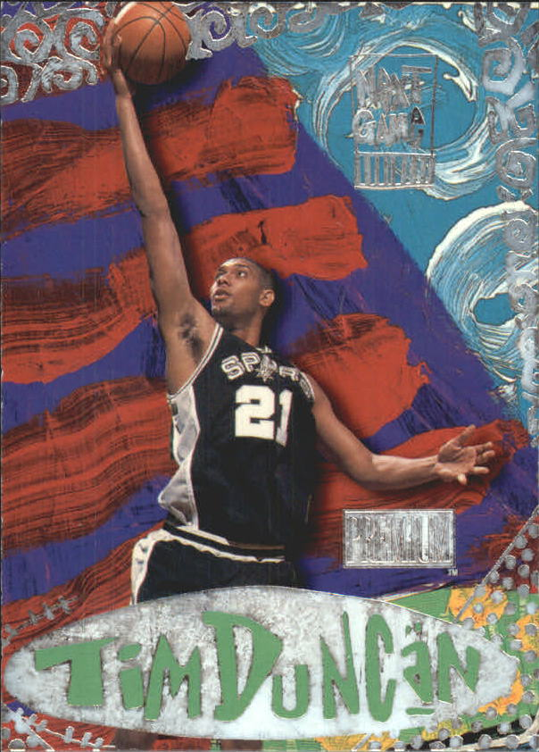 1997-98 SkyBox Premium Next Game #7 Tim Duncan