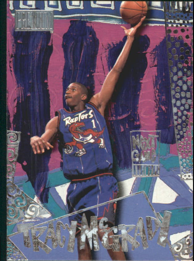 1997-98 SkyBox Premium Next Game #10 Tracy McGrady