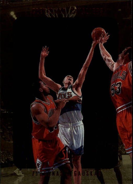 1997-98 SP Authentic #27 Zydrunas Ilgauskas