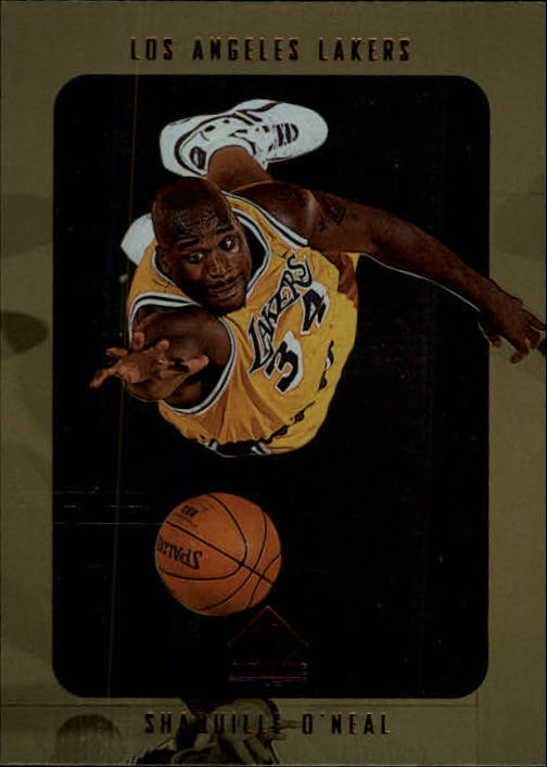 1997-98 SP Authentic #66 Shaquille O'Neal