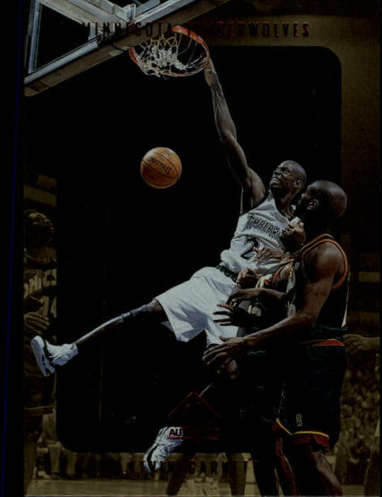 1997-98 SP Authentic #82 Kevin Garnett