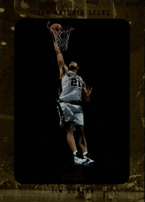 1997-98 SP Authentic #128 Tim Duncan RC !