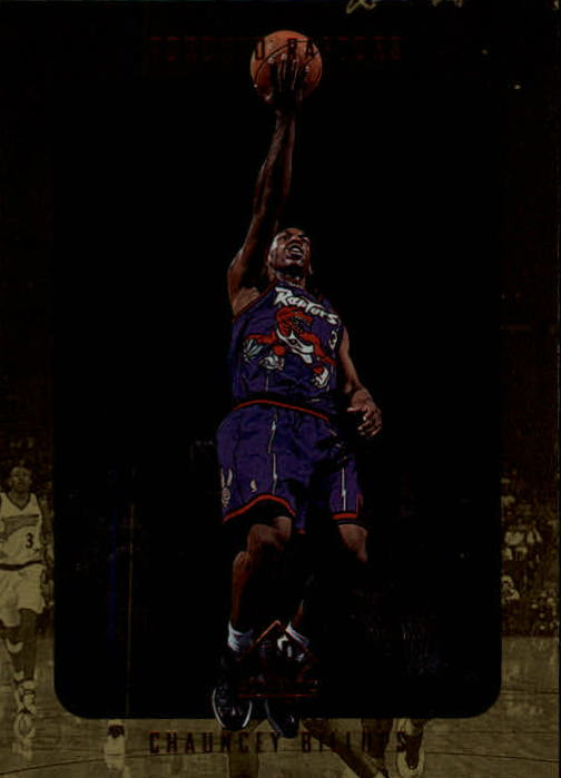1997-98 SP Authentic #139 Chauncey Billups RC