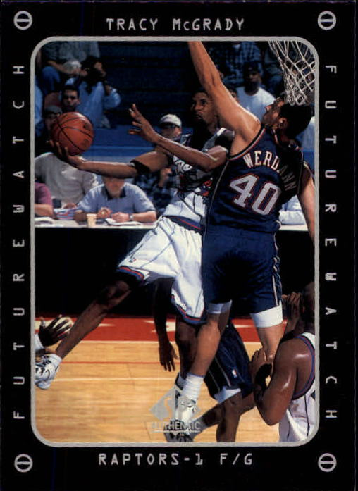 1997-98 SP Authentic #166 Tracy McGrady FW RC