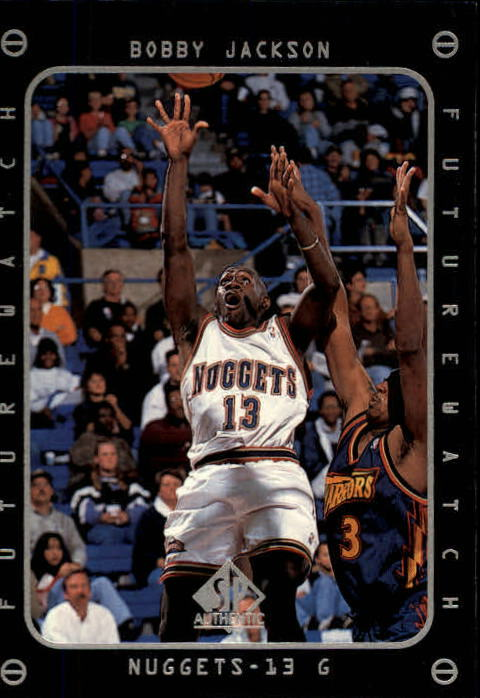 1997-98 SP Authentic #168 Bobby Jackson FW