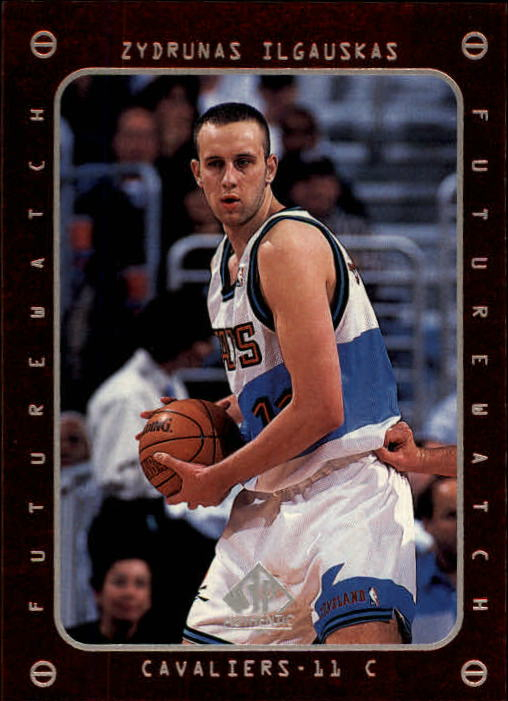 1997-98 SP Authentic #170 Zydrunas Ilgauskas FW