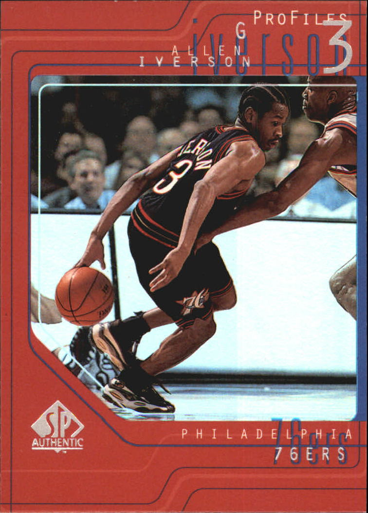 1997-98 SP Authentic Profiles 1 #P5 Allen Iverson
