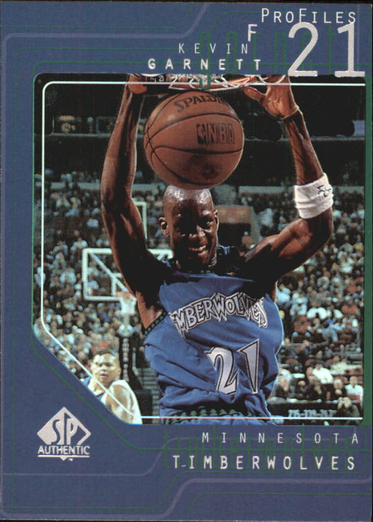 1997-98 SP Authentic Profiles 1 #P12 Kevin Garnett