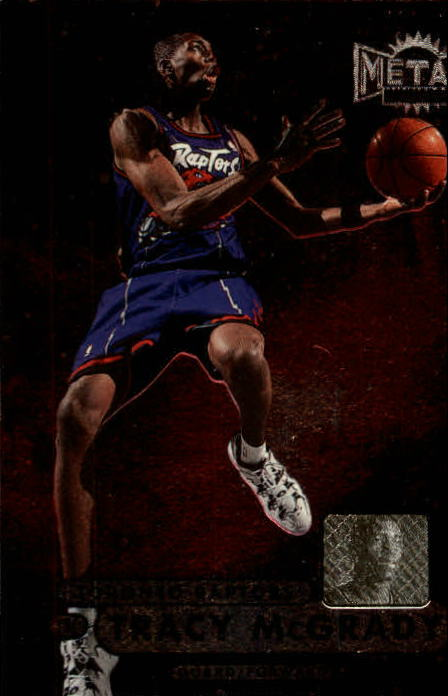 1997-98 Metal Universe Championship #36 Tracy McGrady RC