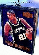 1997-98 Metal Universe Championship Future Champions #1 Tim Duncan