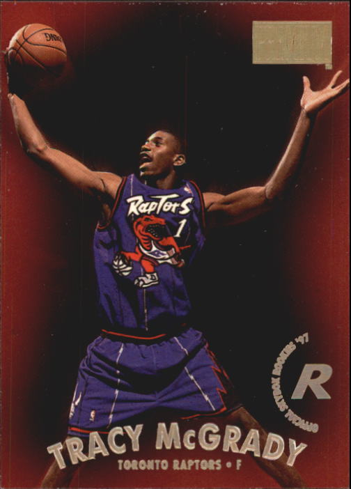 1997-98 SkyBox Premium #79 Tracy McGrady RC