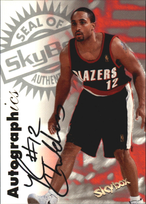 1997-98 SkyBox Premium Autographics #24 Randolph Childress