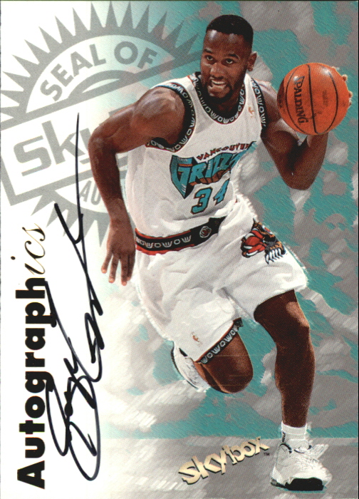 1997-98 SkyBox Premium Autographics #65 George Lynch