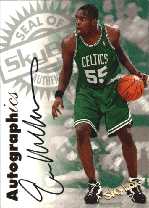 1997-98 SkyBox Premium Autographics #113 Eric Williams