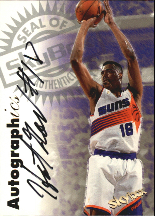 1997-98 SkyBox Premium Autographics #114 John Williams