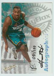 1997-98 SkyBox Premium Autographics Century Marks #48 Grant Hill
