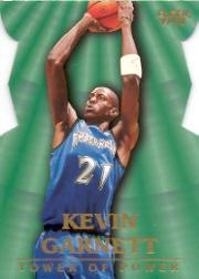 1997-98 Fleer Towers of Power #4 Kevin Garnett