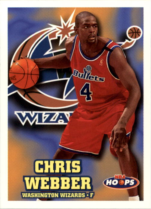 1997-98 Hoops #163 Chris Webber