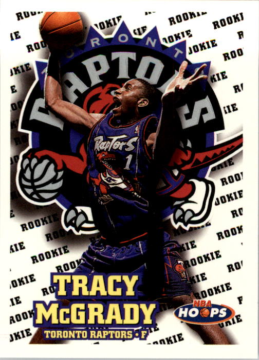 1997-98 Hoops #169 Tracy McGrady RC