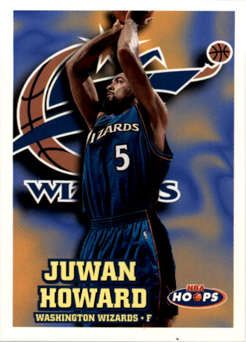 1997-98 Hoops #328 Juwan Howard