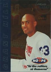 1997-98 Hoops Chill with Hill #7 Grant Hill/In the rafters at Cameron