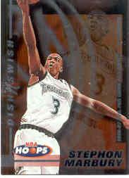 1997-98 Hoops Dish N Swish #DS7 Stephon Marbury