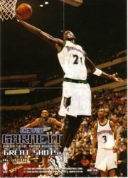 1997-98 Hoops Great Shots #16 Kevin Garnett