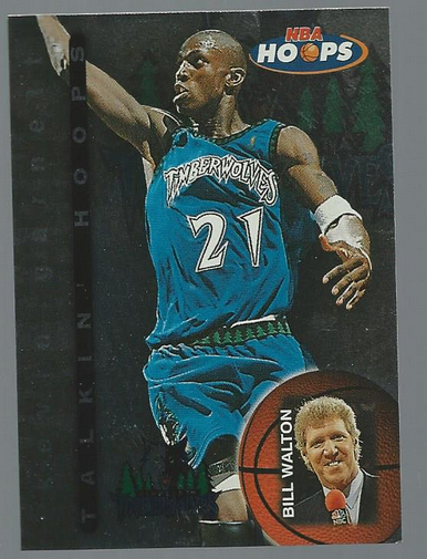 1997-98 Hoops Talkin' Hoops #TH16 Kevin Garnett