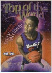 1997-98 Hoops Top of the World #TW8 Tracy McGrady