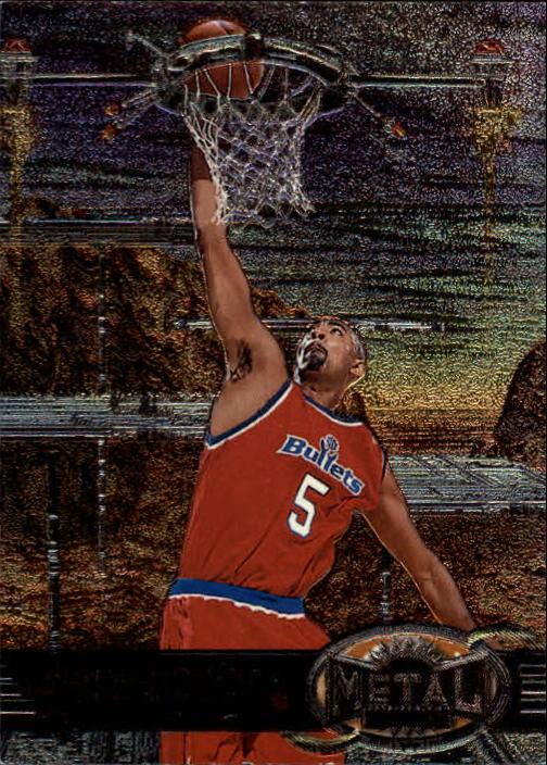 1997-98 Metal Universe #33 Juwan Howard
