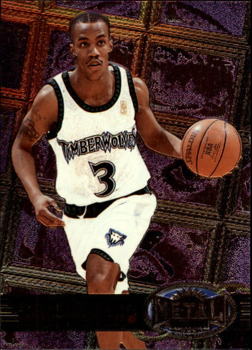 1997-98 Metal Universe #90 Stephon Marbury