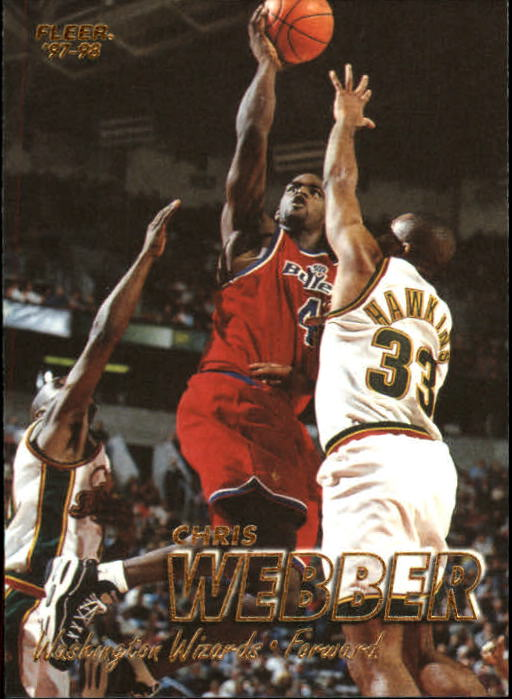 1997-98 Fleer #4 Chris Webber