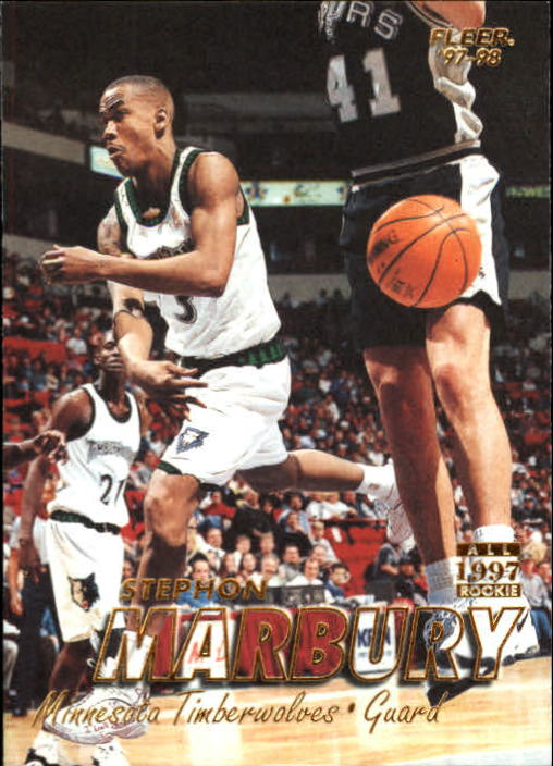 1997-98 Fleer #25 Stephon Marbury
