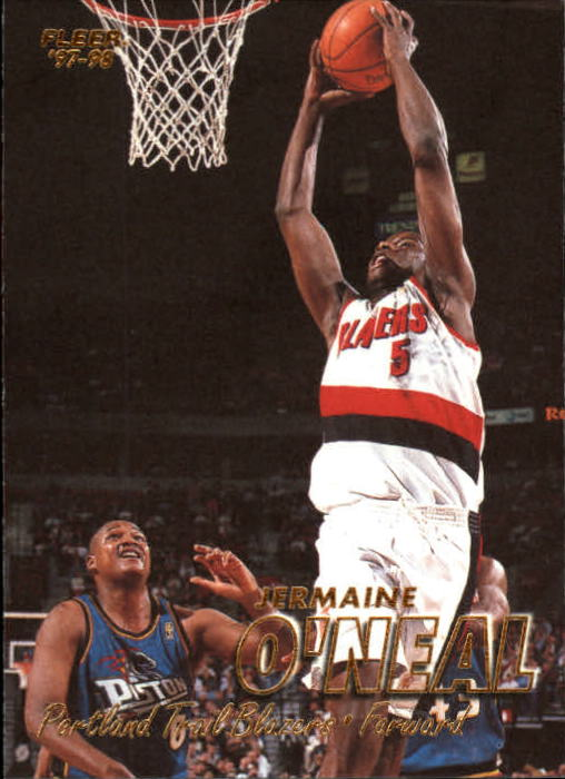 1997-98 Fleer #107 Jermaine O'Neal