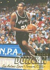 1997-98 Fleer #201 Tim Duncan RC