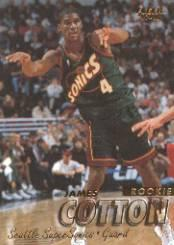 1997-98 Fleer #210 James Cotton RC