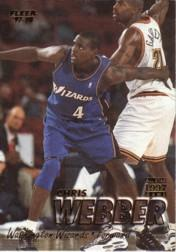 1997-98 Fleer #290 Chris Webber