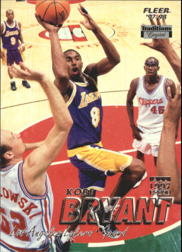 1997-98 Fleer Crystal Collection #50 Kobe Bryant